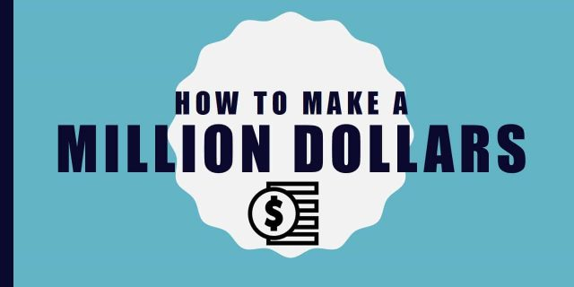 How to make a million dollars & the six simple Money management tips you need for life!