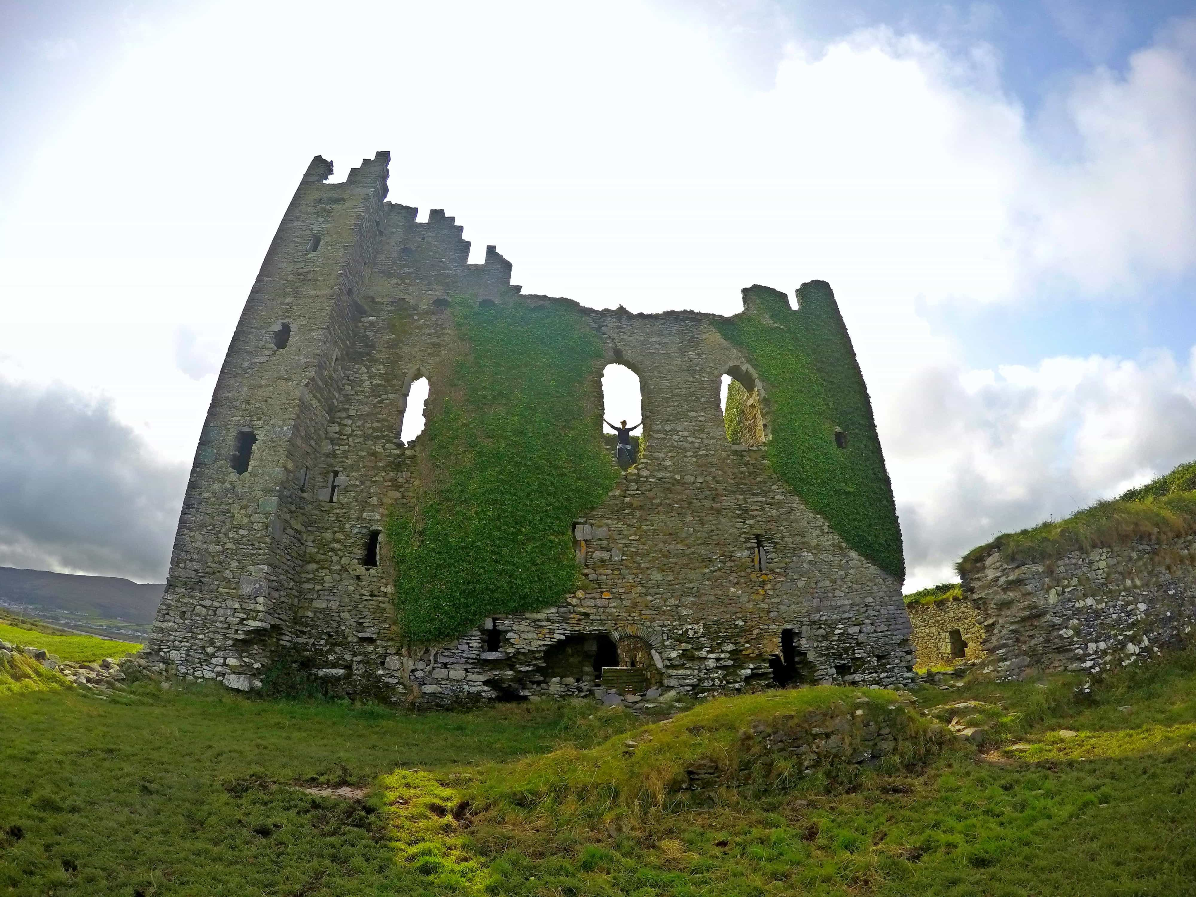 Ballycarbery Castle on the Ring of Kerry