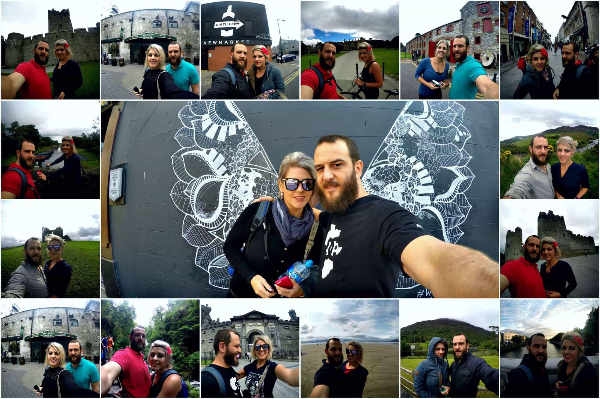 Collage of photos of Cobus & Carla