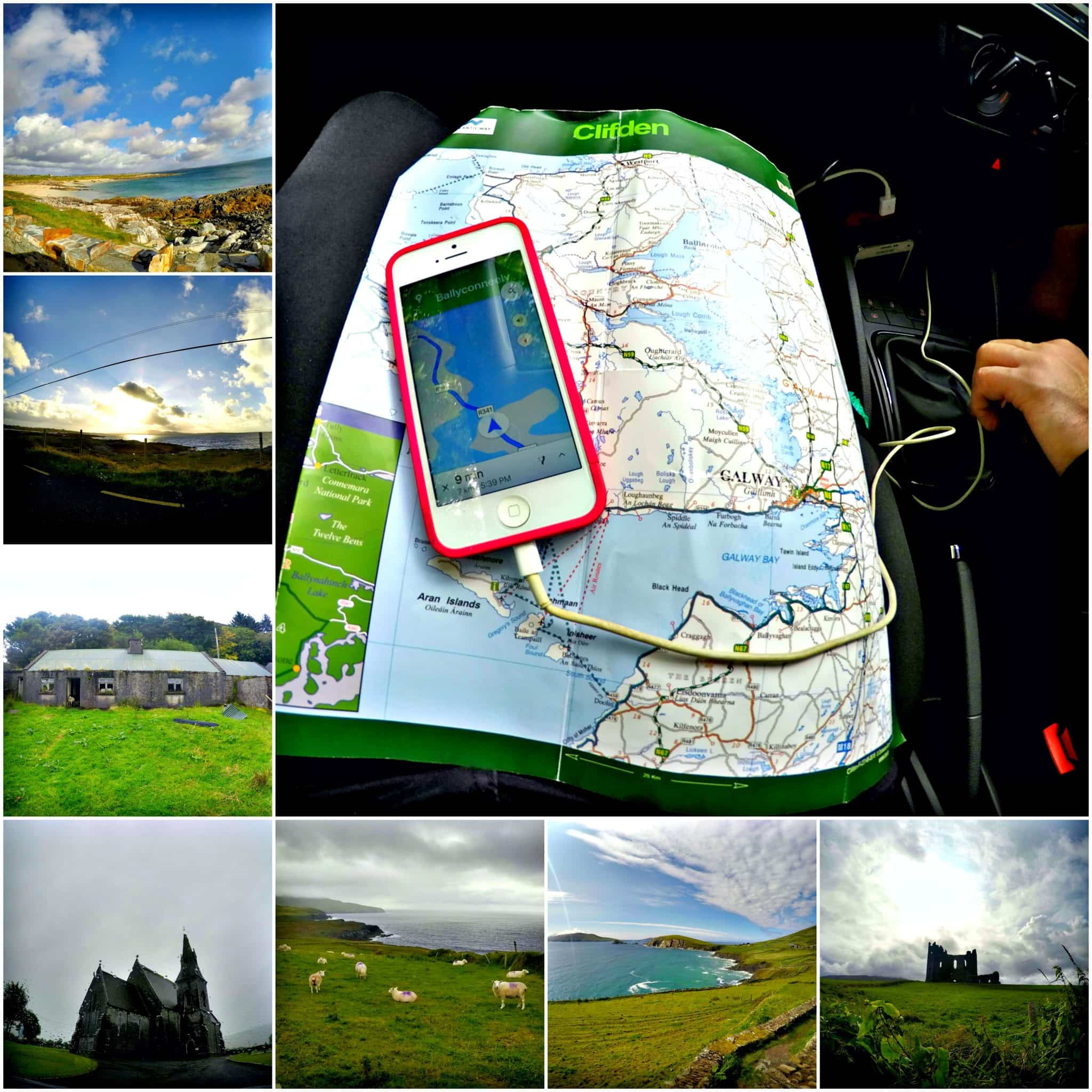 trip planning with sights From the Window of a Car